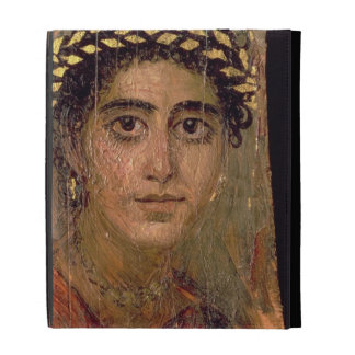 Portrait of a Woman, from Fayum, Romano-Egyptian, iPad Cases