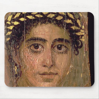 Portrait of a Woman, from Fayum, Romano-Egyptian, Mouse Pad