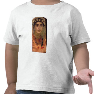 Portrait of a Woman from Fayum Romano-Egyptian Tees