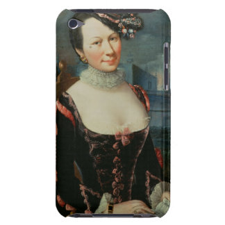 Portrait of a Woman Holding a Musical Score Barely There iPod Cases