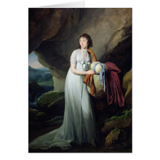 Portrait of a Woman in a Cave Card