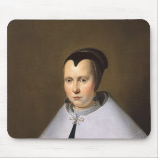 Portrait of a Woman (oil on panel Mouse Pad