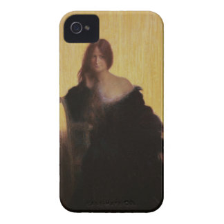 Portrait of a Woman (pastel on paper) iPhone 4 Case-Mate Case