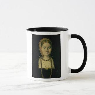 Portrait of a woman, possibly Catherine of Aragon Mug