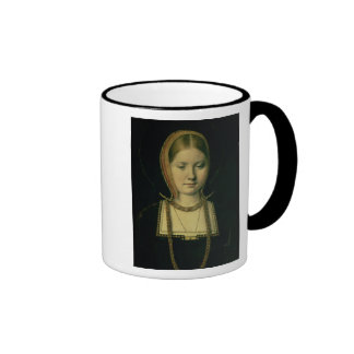 Portrait of a woman, possibly Catherine of Aragon Coffee Mug