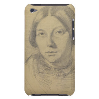 Portrait of a woman, possibly George Sand (1804-76 Barely There iPod Covers