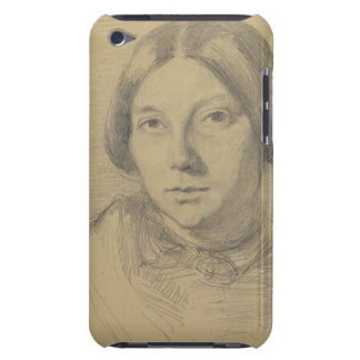 Portrait of a woman, possibly George Sand (1804-76 iPod Touch Case-Mate Case