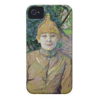 Portrait of a woman, possibly the French dancer Lo iPhone 4 Case