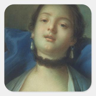 Portrait of a Woman Sticker