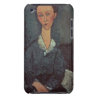 Portrait of a Woman with a White Collar (oil on ca Case-Mate iPod Touch Case