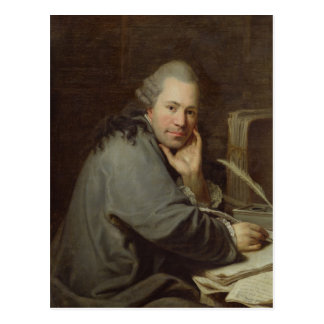 Portrait of a Writer, 1772 Postcard