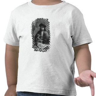 Portrait of a Young Artist, engraved by Tshirt