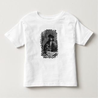 Portrait of a Young Artist, engraved by Tshirts