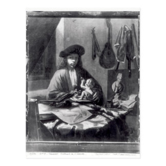 Portrait of a Young Artist Postcard