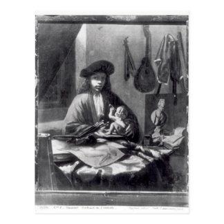 Portrait of a Young Artist Postcard