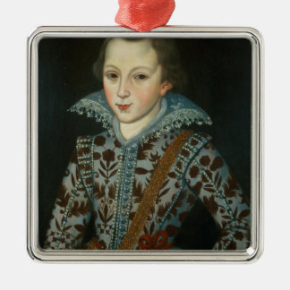 Portrait of a Young Boy, Aged Five Christmas Ornament