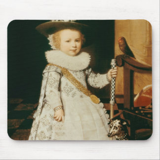Portrait of a Young Boy Mouse Pad