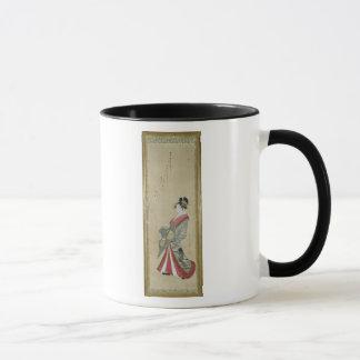 Portrait of a young courtesan mug