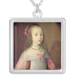 Portrait of a Young Girl, 1651 Pendant
