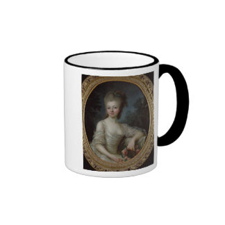 Portrait of a Young Girl, 1775 Ringer Coffee Mug