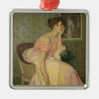 Portrait of a Young Girl, 1906 Christmas Ornament