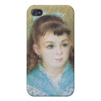 Portrait of a Young Girl (Elizabeth Maitre) Renoir iPhone 4/4S Case