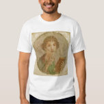 Portrait of a young girl tee shirts