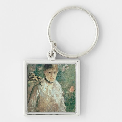 Portrait of a Young Lady Keychains