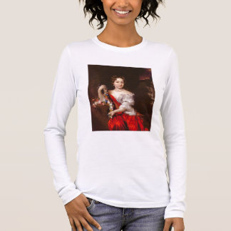 Portrait of a Young Lady (oil on canvas) Long Sleeve T-Shirt