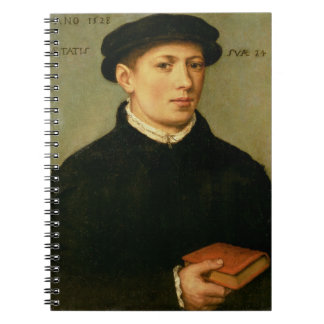 Portrait of a Young Man, 1528 Notebooks