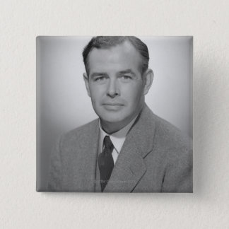 Portrait of a Young Man 15 Cm Square Badge