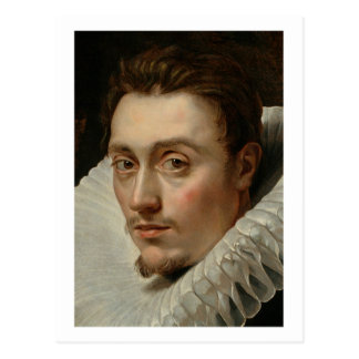 Portrait of a Young Man by Rubens Postcard