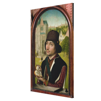 Portrait of a Young Man, c.1480 Canvas Print