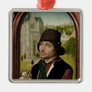 Portrait of a Young Man, c.1480 Christmas Ornament