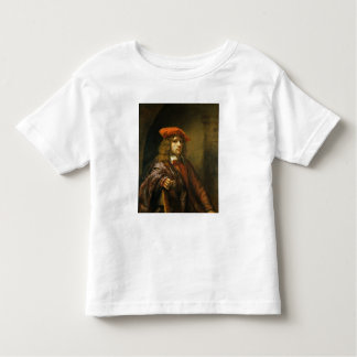 Portrait of a young man in a red cap toddler T-Shirt