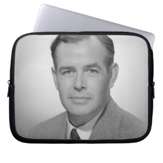 Portrait of a Young Man Laptop Sleeve