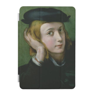 Portrait of a Young Man (oil on panel) iPad Mini Cover