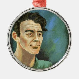 Portrait of a young man Ornament