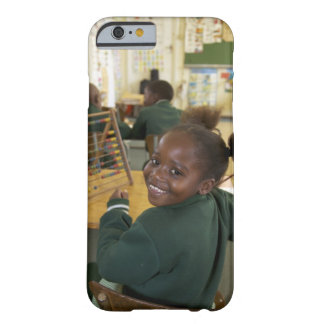 Portrait of a young schoolgirl smiling, KwaZulu Barely There iPhone 6 Case
