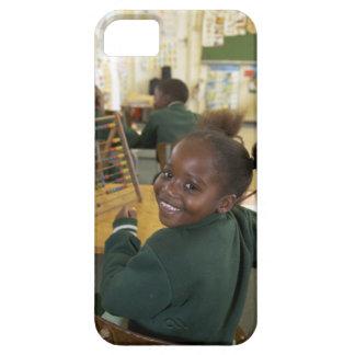 Portrait of a young schoolgirl smiling, KwaZulu iPhone 5 Covers