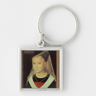 Portrait of a Young Woman, 1480 Keychain