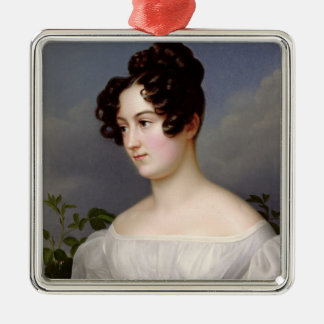 Portrait of a Young Woman, 1827 (oil on canvas) Christmas Ornament
