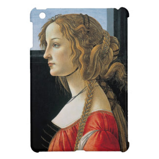 Portrait of a Young Woman by Botticelli iPad Mini Covers