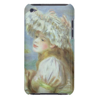 Portrait of a young woman in a lace hat, 1891 iPod touch covers