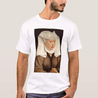 Portrait of a Young Woman in a Pinned Hat, c.1435 T-Shirt