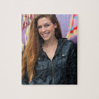 Portrait of a young woman puzzle