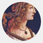 Portrait Of A Young Woman (Simonetta Vespuci?)