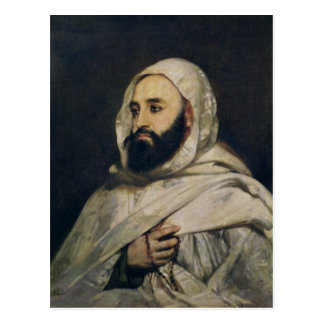 Portrait of Abd el-Kader Postcard