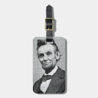 Portrait of Abe Lincoln 1 Luggage Tag