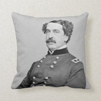 Portrait of Abner Doubleday by Mathew B. Brady Cushions